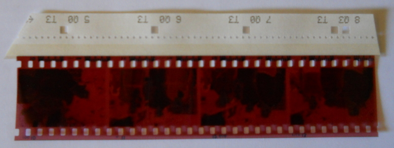 Reprint Guide Stuck to Film Negative